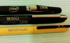 Laser engrave on Pens