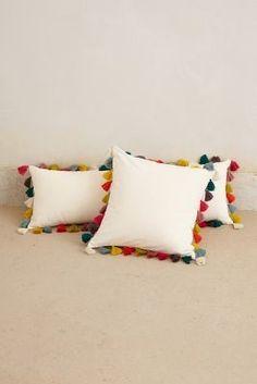 Anthropologie Firenze Velvet Tassel Pillow  #anthrofave #anthropologie