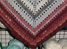 """Ravelry: """"Anything Goes Shawl"""" pattern by O/C Knitiot Designs - Deby Lake"""