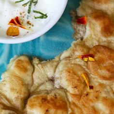 Naan, the Indian Flatbread that takes 5 minutes to make and NO oven required!