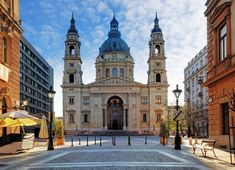 Photo about Budapest - St. Stephen s Basilica, Hungary. Image of building, hungary, dome - 57278632 Steampunk City, Saint Stephen, Cathedral Church, Roman Catholic, Catholic Churches, Neoclassical, Dream Vacations, Most Beautiful, Europe