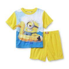 Despicable Me Toddler Boy's Pajamas - Minions Toddler Outfits, Baby Boy Outfits, Minion Outfit, Awesome Boy, Baby Boy T Shirt, Boys Pajamas, Boys T Shirts, Toddler Boys, Toddlers