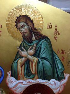 Byzantine Icons, Saint John, John The Baptist, Orthodox Icons, Saints, Princess Zelda, Fictional Characters, Art Background, San Juan