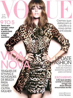 Freja Beha Erichsen by Henrique Gendre Vogue Brazil March 2011