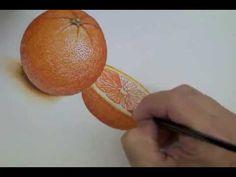LCAD Teacher Michael Savas Demonstrates Watercolor Painting Dry Brush Technique - YouTube