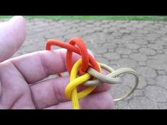 How to tie a 3 strand double Matthew Walker knot