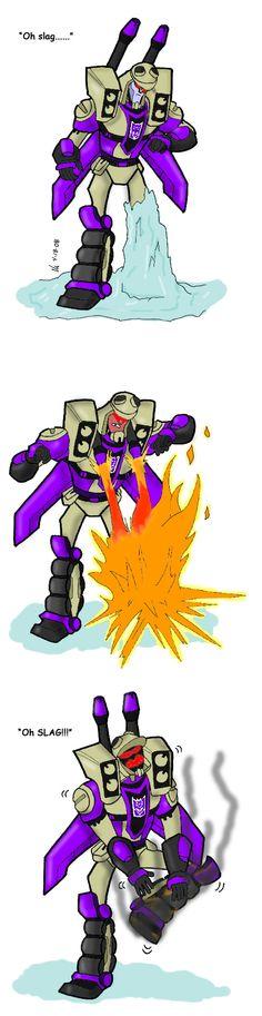 Tfa-transformers animated Blitzwing