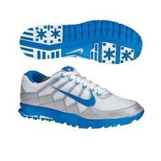 New-Nike-Mens-Air-Range-WP-II-Wide-Golf-Shoe-White-Grey-Photo-Blue-10-W-US