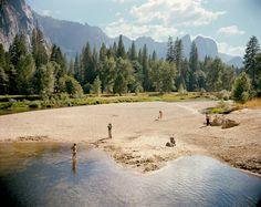 Stephen Shore, Merced River, Yosemite National Park