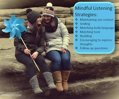 Become a Better Communicator Through Mindful Listening | Park Ridge Psychological Services