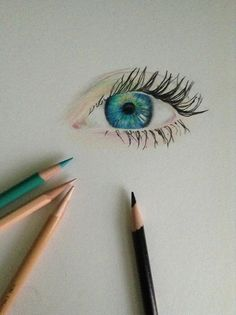 Colorpencil eye