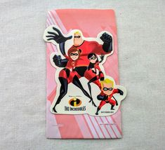 18 Disney Incredibles Pixar Valentines Day Gift Bags NEW  Elastigirl Dash Violet