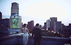 A GIF. | 42 Impossibly Fun Wedding Photo Ideas You'll Want To Steal