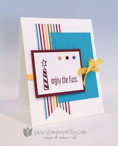 Stampin up stampin' up! stampinup stamping pretty mary fish big news birthdays card