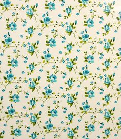 Blue rosebud PVC!  http://www.justfabrics.co.uk/curtain-fabric-upholstery/blue-pvc-rosebud-fabric/