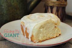 Feeding My Giant: Giant Fluffy Cinnamon Rolls Amish Recipes, My Recipes, Baking Recipes, Favorite Recipes, Easter Recipes, Breakfast Bake, Breakfast Recipes, Dessert Recipes, Breakfast Items