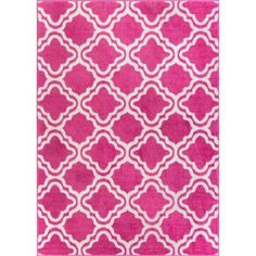 Well Woven StarBright Calipso Pink 5 ft. x 7 ft. Kids Area Rug - 09405 - The Home Depot