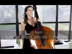 J.S. Bach - Suite for Solo Cello no. 1, Prelude