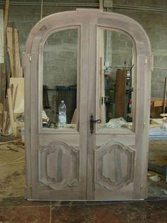 Porta in noce:particolare legnoeoltre.altervista.org
