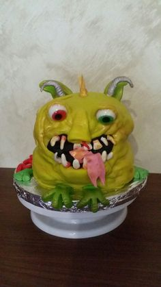 tarta monstruo