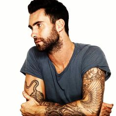 Can I have this man and all his tattoos??