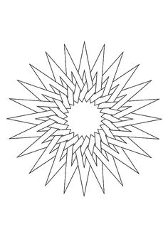 Top 20 Pattern Coloring Pages For Your Toddler Star Coloring Pages, Pattern Coloring Pages, Adult Coloring Pages, Coloring Sheets, Arabesque, Geometric Properties, Compass Rose, Art Drawings Sketches, Hand Art