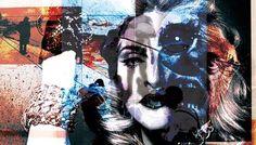 Leni Smoragdova is a Russian photographer. You can view more of Leni's work through Saatchi Art. Images courtesy of Leni Smoragdova London Art, Modern Artists, Abstract Expressionism Art, New Media, Art Blog, Art Day, Insta Art, Madonna, Paper Art