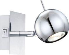 Wandleuchte-Globo-OBERON-57881-1-Wandlampe-35-Watt-GU10-Wandspot-Strahler
