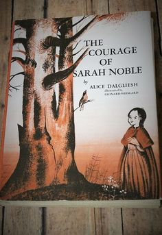 The Courage of Sarah Noble-Vintage by LittleLambsAttic on Etsy