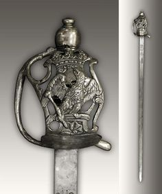 Sword used by Royal Prussian Regiment Garde du Corps, ca. 1786-1803.