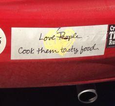 Funny sticker.