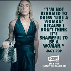 Iggy Pop says cool stuff...