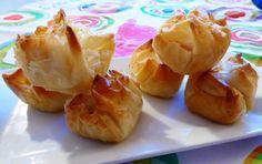 Frittomisto: cucina ed emozioni: Salatini di pasta fillo al salmone