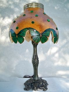 Butterfly lamp shade so pretty