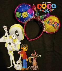 """Seize your moment. Diy Disney Ears, Disney Minnie Mouse Ears, Disney Headbands, Ear Headbands, Disney Time, Disney Stuff, Mouse Crafts, Disney Crafts, Coco Nails"