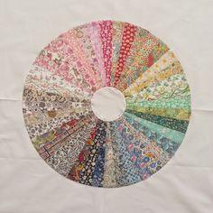 Liberty of London Color Wheel Tutorial { Blog Hop}