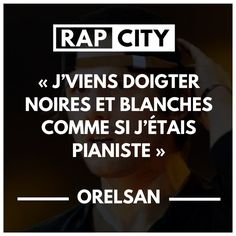 #punchline #orelsan #rap #francais Clash Rap, Best Punchlines, Lyric Quotes, Lyrics, Rap City, Entrepreneur Quotes, Celebrity Dads, Eminem, Mixtape