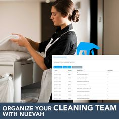 Nuevah helps you manage your daily cleaning 🛏- mobile housekeeping - have your rooms cleaned easy and on time ⏱👌🏻 #nuevah #nuevahospitality -