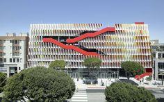 City of Santa Monica Public Parking Structure #6   Décoration de la maison