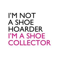 spoken like a true fashionista!