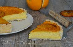 Crostata con ricotta e arance ricetta dolce, un profumo ed un sapore unico, si scioglie in bocca ed è deliziosa, arance ricotta e cannella un connubio unico