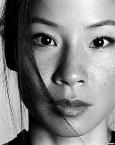 Lucy Lui: She makes having freckles sexy, and she's not even Irish...is she..??