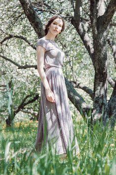 Платье 100% шелк из коллекции Ulyana Lineva