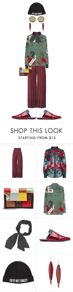 """Cute But Crazy"" by kathyaalrust ❤ liked on Polyvore featuring Adam Selman, Marni, MadeWorn, Chiara Ferragni, Mark Davis and Kaleos"