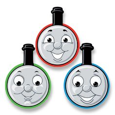 Thomas & Friends Paper Masks - Party Supplies - Party Ark