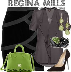 Inspired by Once Upon a Time character Regina Mills/Evil Queen played by Lana Parrilla.