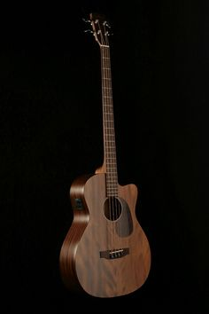 Bass Guitars - Sigma Acoustic Bass Mahogany W/Gigbag