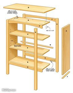 How To Make The Bookcase Plans Http Plansforwoodfurniture Com