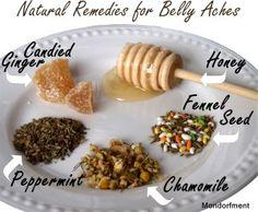 Stomach Ache Natural Remedies | Mondorfment