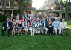 All smiles for the Class of 1983 as they celebrated their 30th reunion! Loomis Chaffee School